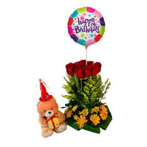 Floral Arrangement For Birthday-19