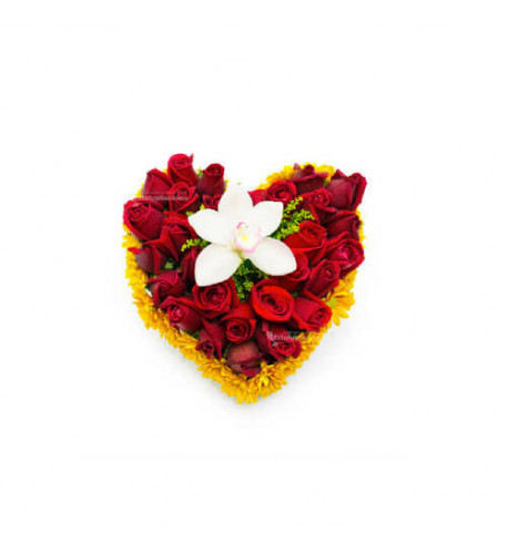 Floral Arrangement To Say I Love You - 1