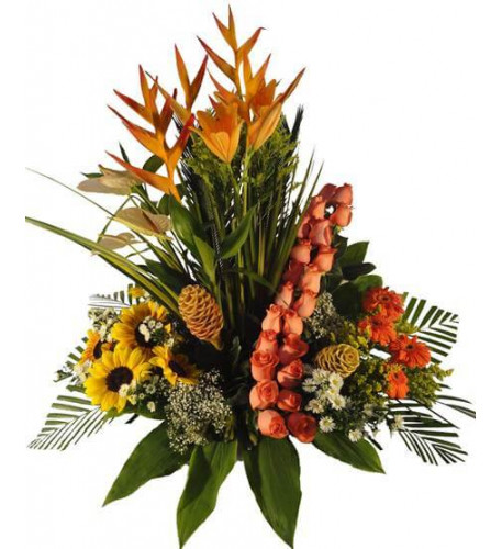 Floral Arrangement For Birthday-15
