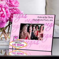 Personalized Gals Las Vegas Picture Frame