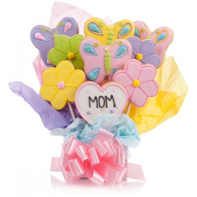 Just 4 Mom 5 Cookie Bouquet