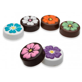 Chocolate Molded Oreo Flowers