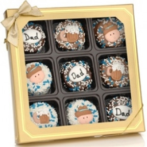 Father's Day Chocolate Oreos -Box Of 9