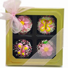 Mother's Day Dipped & Decorated Oreos Box Of 4