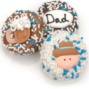 Father's Day Chocolate Dipped Oreos- Individually Wrapped
