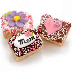 Mother's Day Chocolate Dipped Mini Crizpy - Individually Wrapped