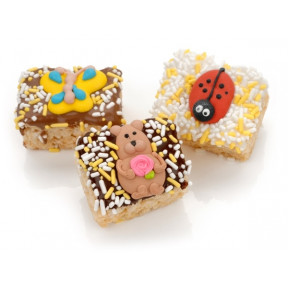 Spring Chocolate Dipped Mini Crizpy - Individually Wrapped