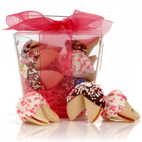 Take Out Pail Of 6 Mother's Day Fortune Cookies