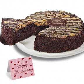 German Chocolate Anniversary Cake