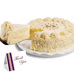 Vanilla Bean Thank you Cake