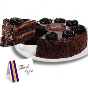 Chocolate Mousse Torte Thank you Cake
