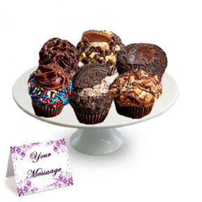 Mini Chocolate Lovers Cupcakes-1