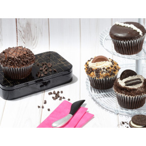 JUMBO Chocolate Lovers Cupcakes