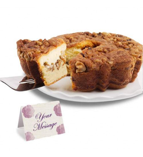 Viennese Coffee Cake  WITH Cinnamon and Walnuts