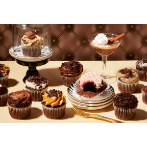 Mini Chocolate Lovers Cupcakes-2