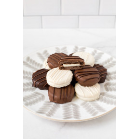Chocolate-Covered Sandwich Cookies - Box of 12