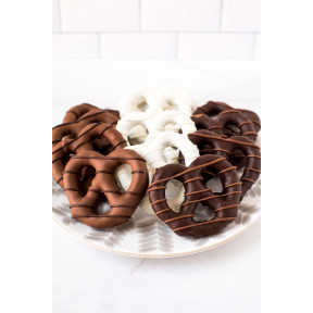 Chocolate-Covered Pretzels - Box of 12