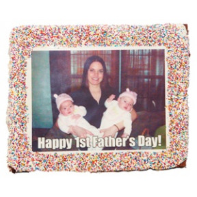 "8""x 10"" Rectangle Giant Photo or Logo Brownie"