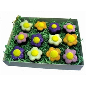 Brownie Bites - Flowers Gift Box Of 12