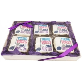 Logo Brownies, Gift Box Of 6
