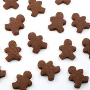 Mini Gingerbread Men Cookies, dozen