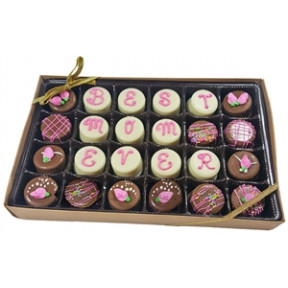 Mini OreoCookies - Best Mom Ever, Gift box of 24