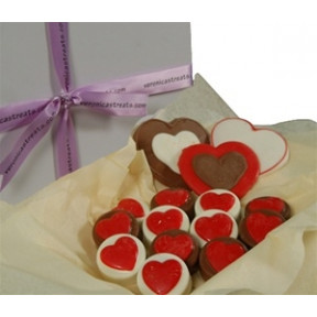Oreo Cookies - Gift Box, Hearts