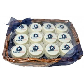 Oreo® Cookies - Logo Gift Basket Of 24