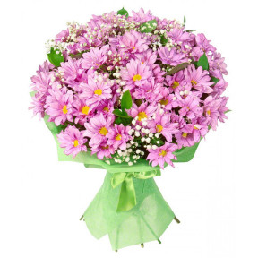 Bouquet of pink chrisanthemums