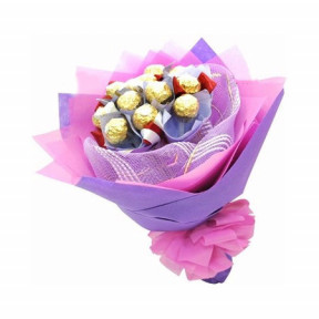 Chocolate bouquet - Beautiful Smile