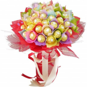 Chocolate bouquet - Rainbow