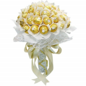 Chocolate bouquet - Satin