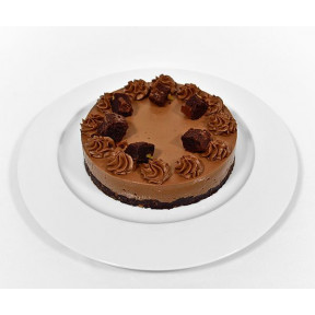 Hazelnut Brownie Gateau (18 Cm)