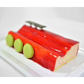 Strawberry Mousse Terrine