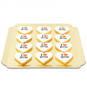 I Love Mum Cookies (12 Pcs)