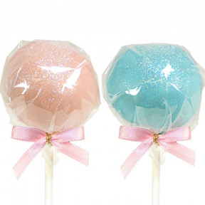 Cake-Pops With Vanilla & Chocolate Cream (12 Pcs)