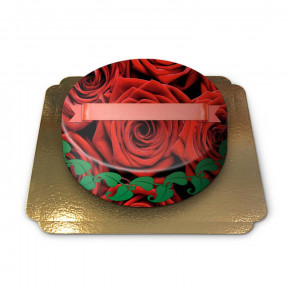 Cake red roses (Small)
