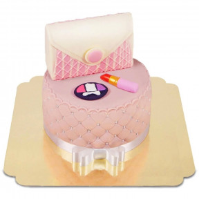 Makeup And Bag Cake Deluxe (Small)