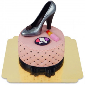 Makeup And Shoe Cake Deluxe (Small)