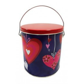 Romance Cookie Pail