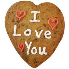 Giant Cookie-I Love You