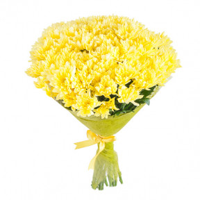 Yellow Chrysanthemum (7 roses)