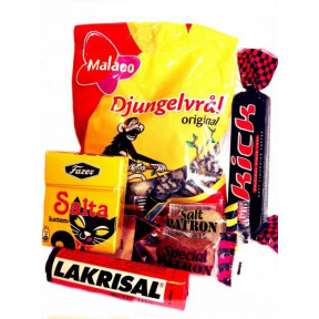 Liquorice box salt