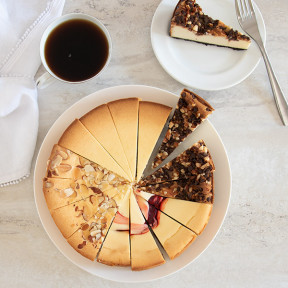 Gourmet Cheesecake Sampler - 9 Inch