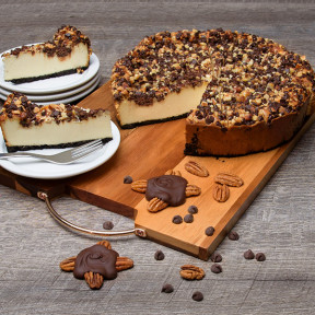 Turtle Cheesecake - 9 Inch