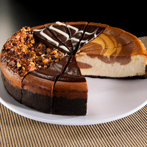 Chocolate Lover's Cheesecake Sampler - 9 Inch