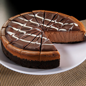 Triple Chocolate Cheesecake - 9 Inch