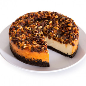 Turtle Cheesecake - 6 Inch