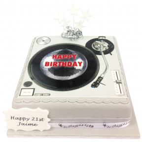 Record Player Cake (8 Inch)