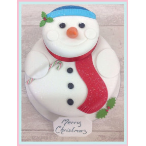 Frosty Snowman Luxury Cake